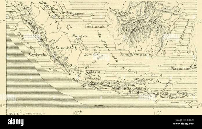The Earth And Its Inhabitants Geography Indonesia 65 Indo Malaya And Austro Malaya But Malaysia Itself As Has Long Been Shown By Wallace Forms Two Perfectly Distinct Physical Regions The Indo Malayan Comprising