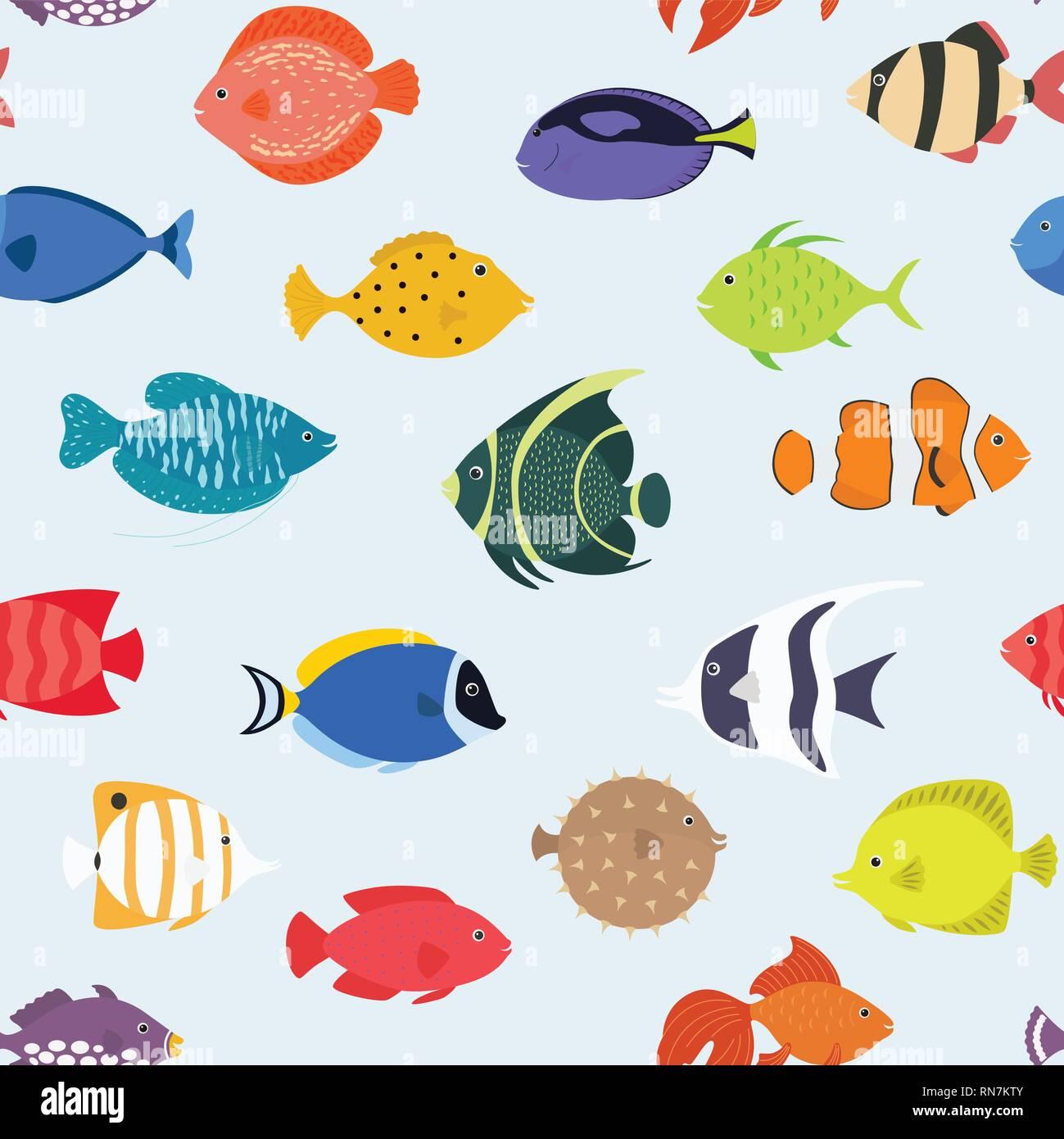Underwater World Stock Vector Images