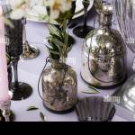 Wedding Decoration For Banquet With Olive Tree Stock Photo Alamy