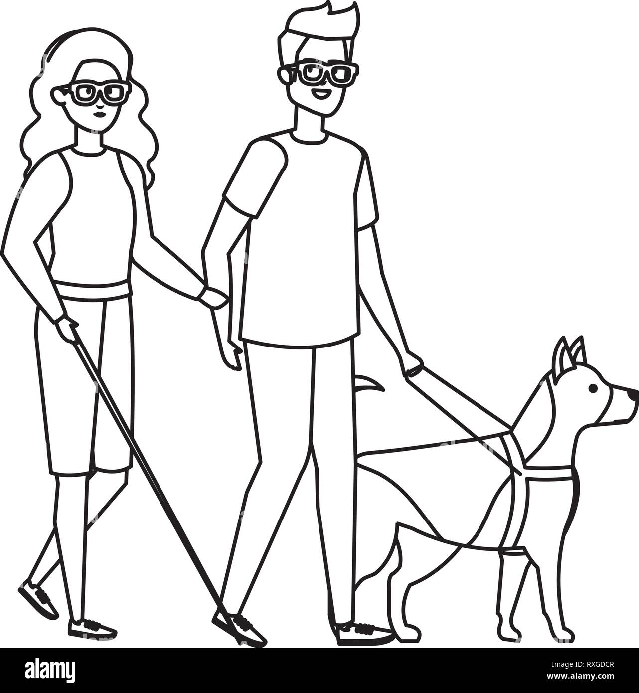 Blind Man Dog Stock Photos Amp Blind Man Dog Stock Images