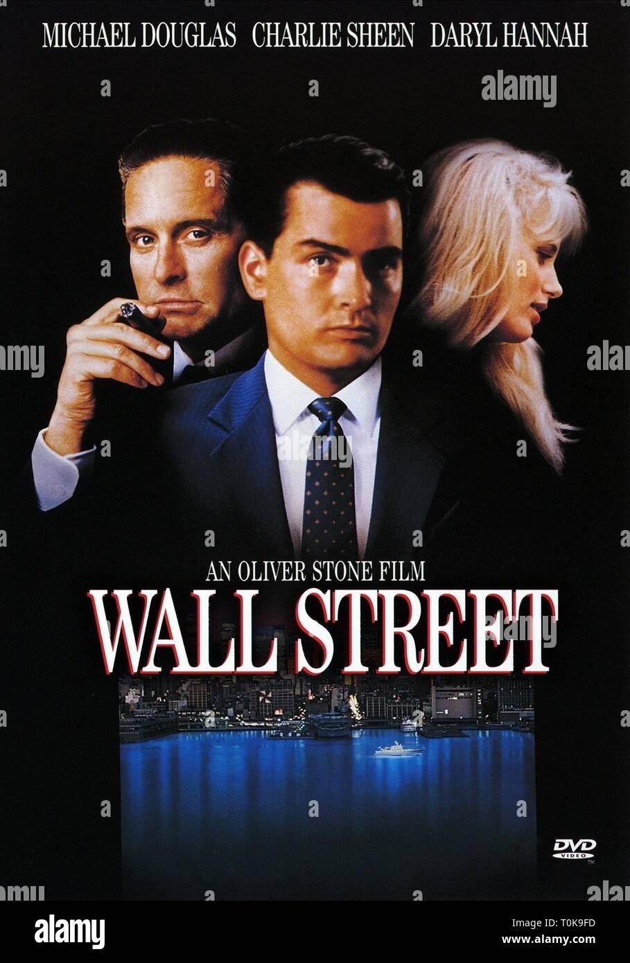 MOVIE POSTER, WALL STREET, 1987 Stock Photo - Alamy