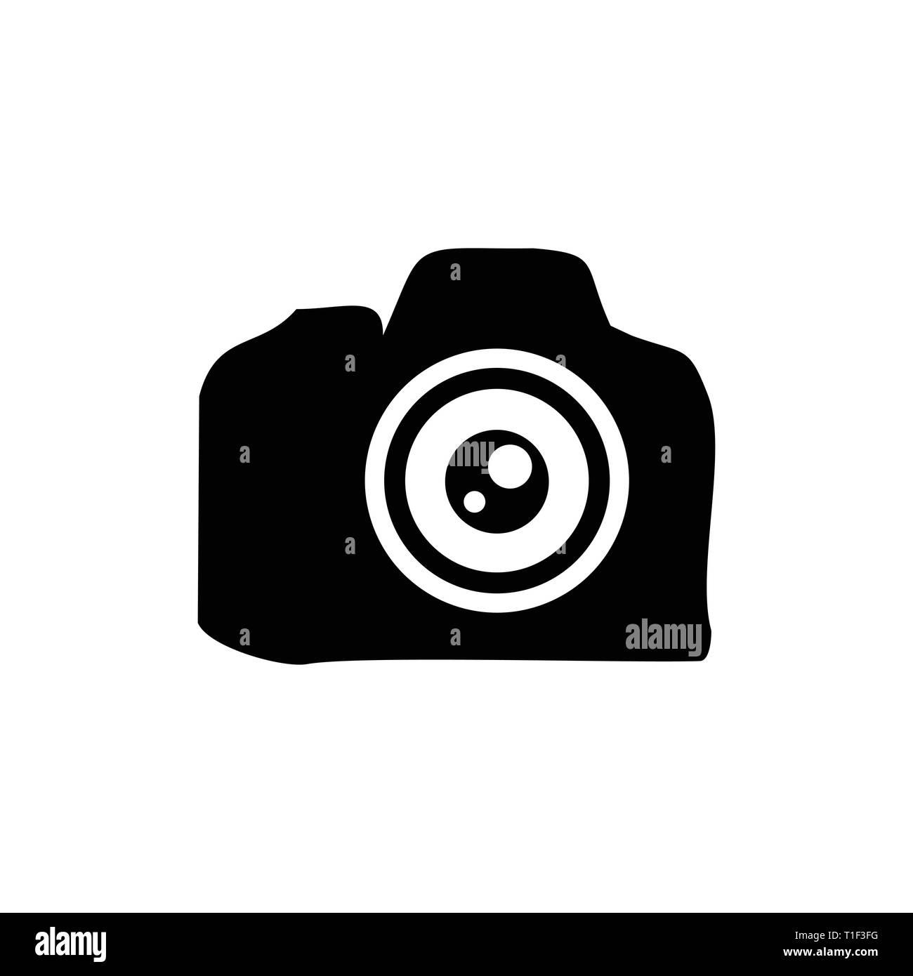 Camera Lens Professional Silhouette Vector Symbol Graphic Logo Design Template Stock Vector Image Art Alamy