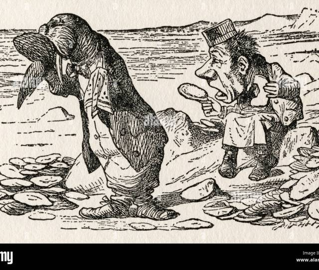 The Walrus And The Carpenter Illustration By Sir John Tenniel