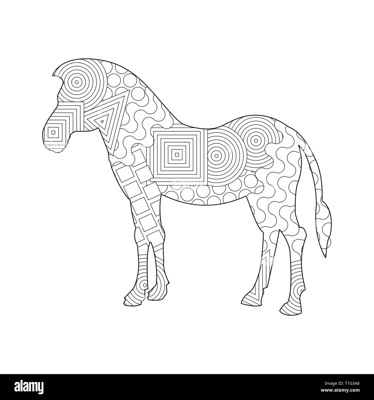 Paint Horse Cut Out Stock Images Amp Pictures