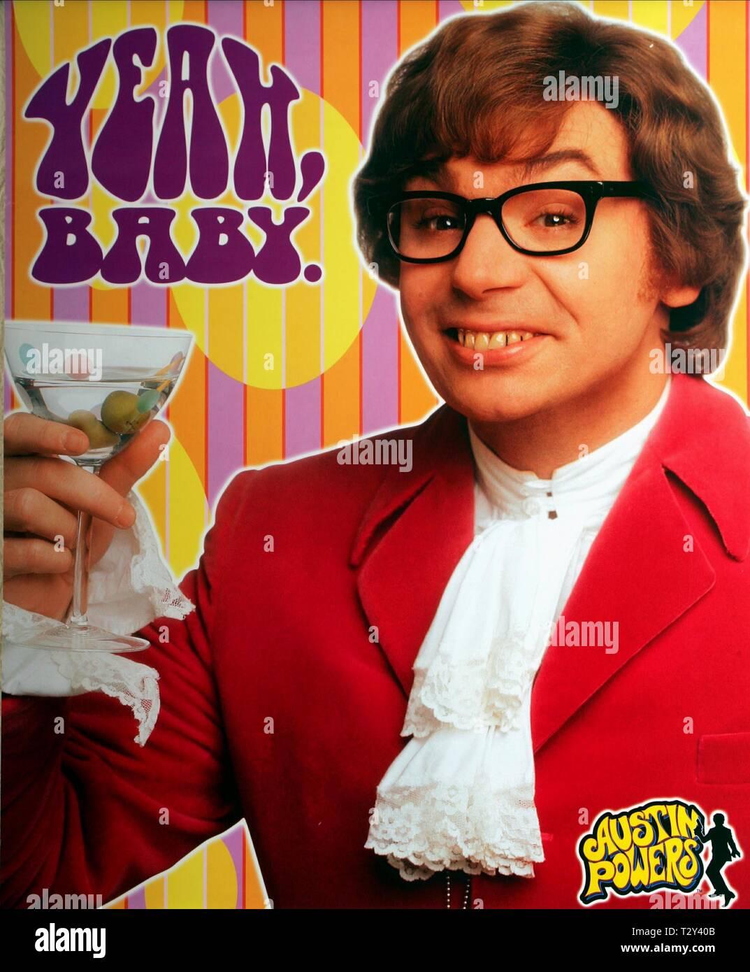 https www alamy com mike myers poster austin powers international man of mystery 1997 image242770315 html