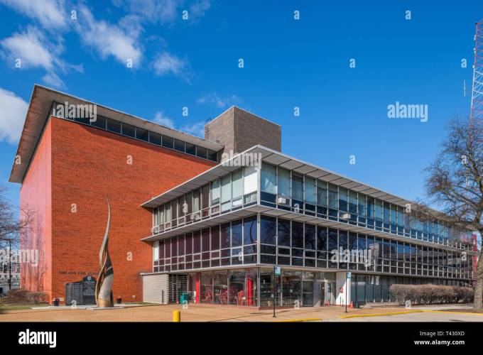 Chicago Fire Department Academy Stock Photo Alamy
