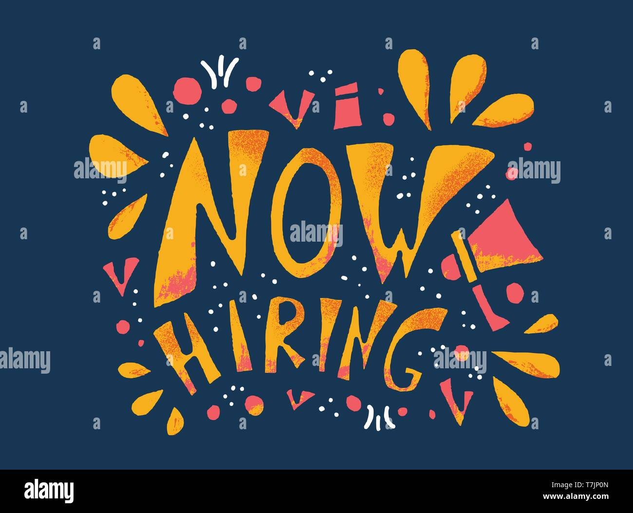 https www alamy com now hiring poster message for hr vacancy announcement template for web social media post vector color illustration image245660149 html
