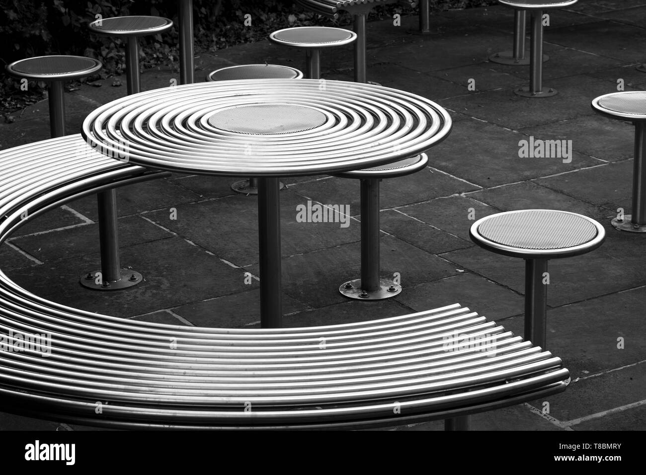 https www alamy com polished stainless steel outdoor furniture image246120223 html