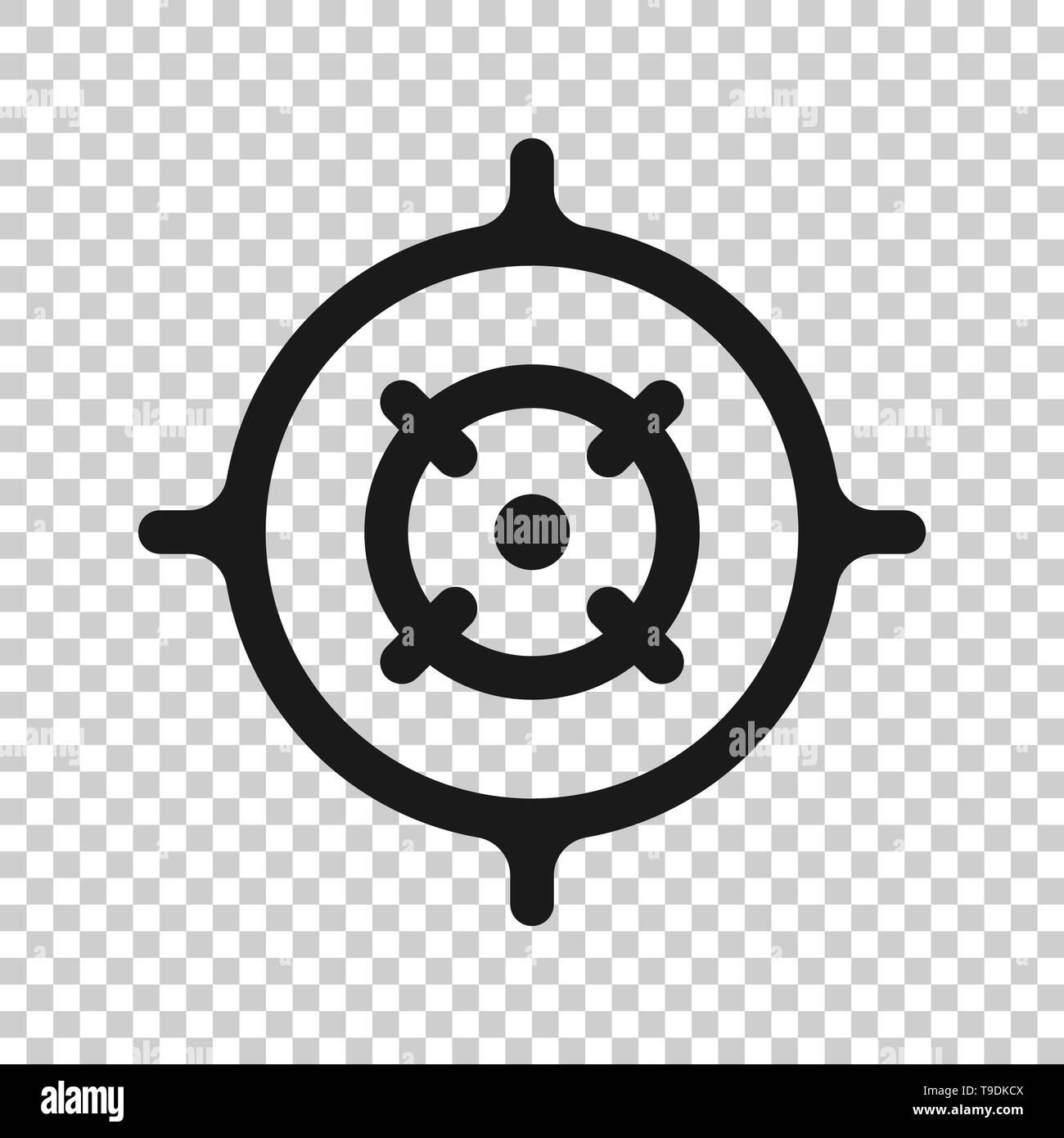 Transparent Crosshair Simple Background