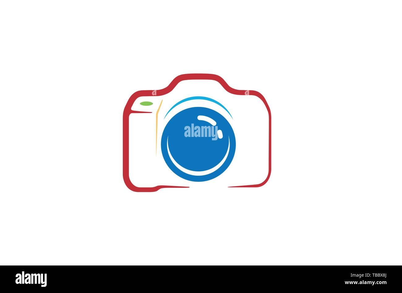 Creative Abstract Camera Logo Design Symbol Vector Illustration Stock Vector Image Art Alamy