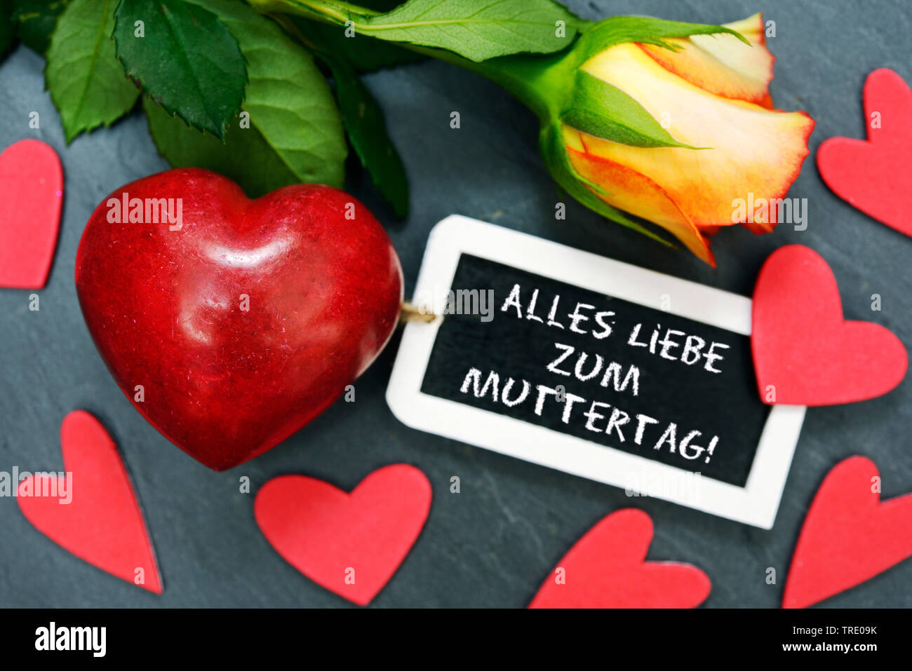 Happy Mothers Day German Stock Photos Happy Mothers Day German