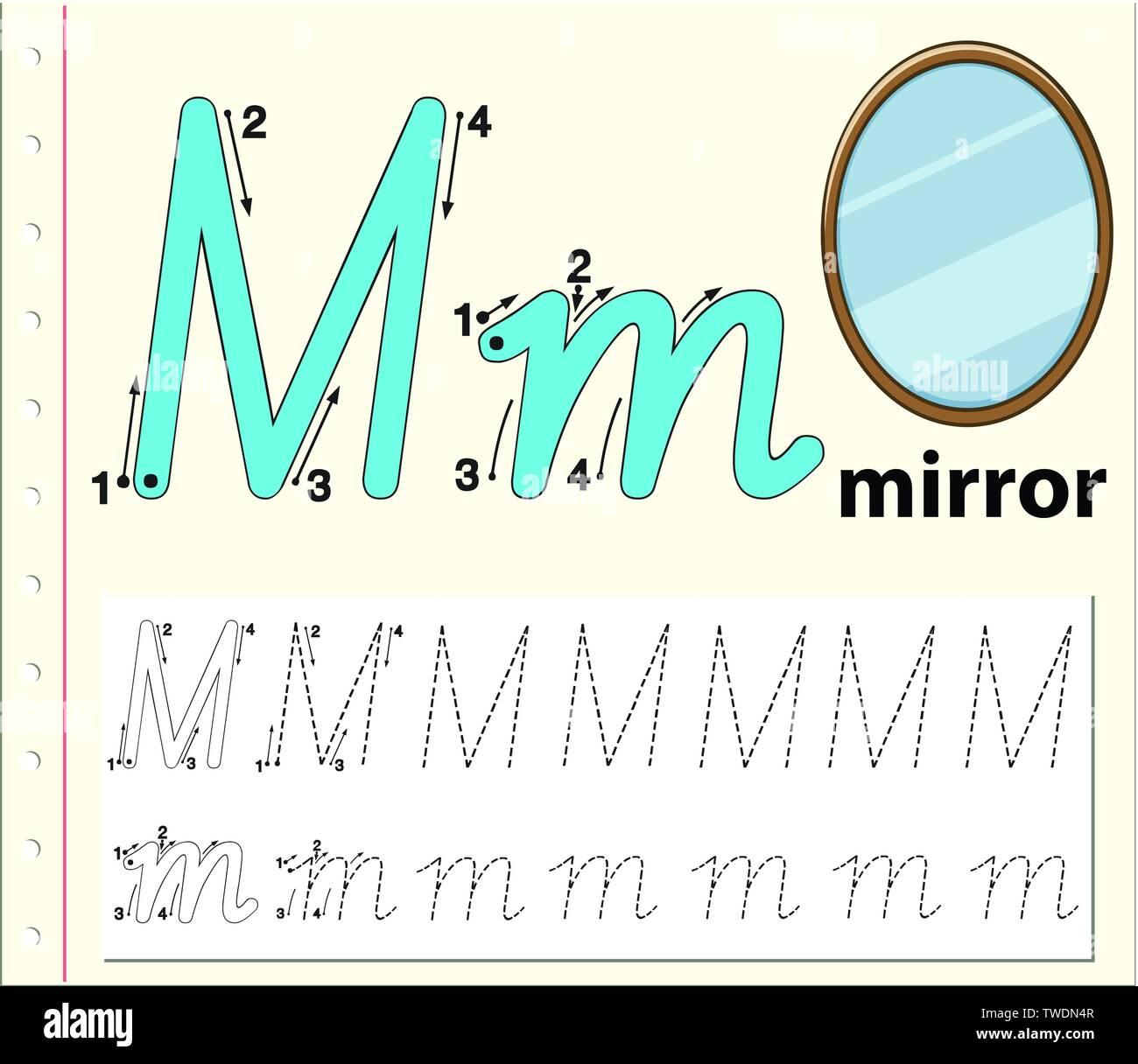 Cartoon Letter M Stock Photos Amp Cartoon Letter M Stock