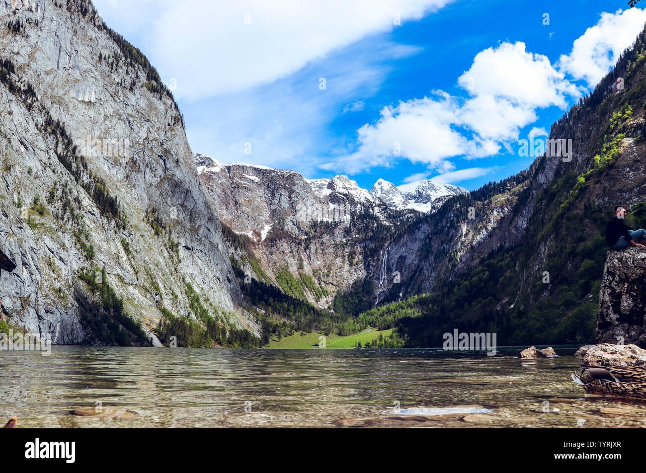 Lake Konigsee High Resolution Stock Photography And Images Alamy