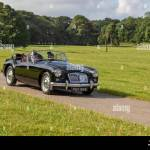 Pas968 1959 Mg Mga Roadster At The Classic Car Rally Sunday 7th July 2019 Mark Woodward S Midsummer Classic Car Bike Show Traveled To Scenic Carnforth To Showcase More Classics Historics
