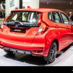 Geneva Switzerland March 2019 Honda Jazz Fit Fitto At Geneva International Motor Show Third Generation B Segment Subcompact Car By Honda Stock Photo Alamy
