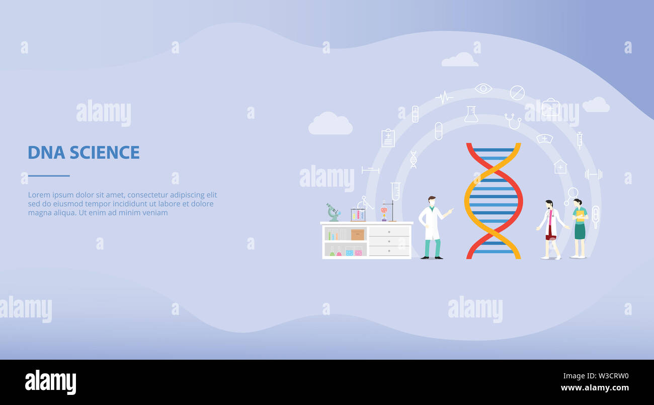 Genetic Engineering On The Laboratory With Team People