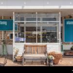 Vintage Style Cafe Coffee Shop Facade Stock Photo Alamy