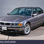 Bmw 7 Series E38 Model James Bond Classic Car Stock Photo Alamy
