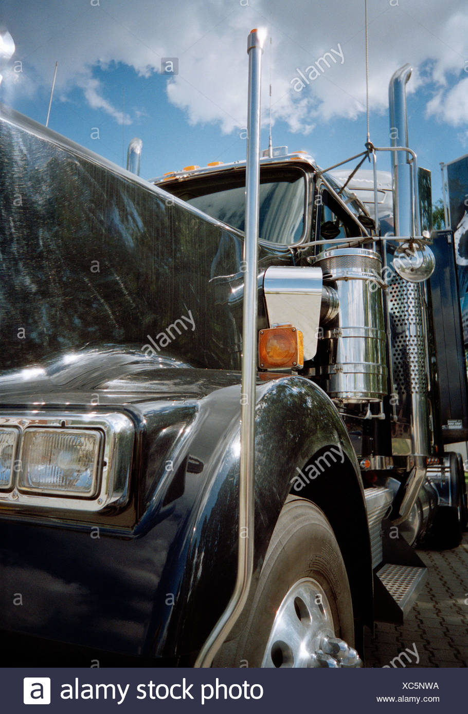 https www alamy com close up of semi truck image282868694 html
