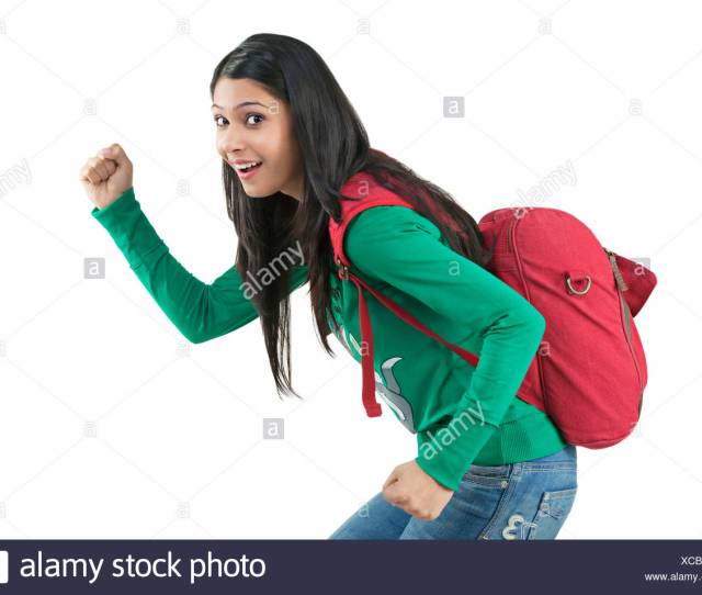 College Girl Bunking Class Stock Image