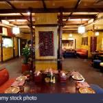 Arabian Restaurant Stock Photo Alamy