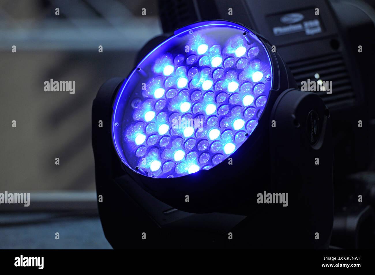 Event Beleuchtung Laser Licht Blaulicht Stockfotografie Alamy
