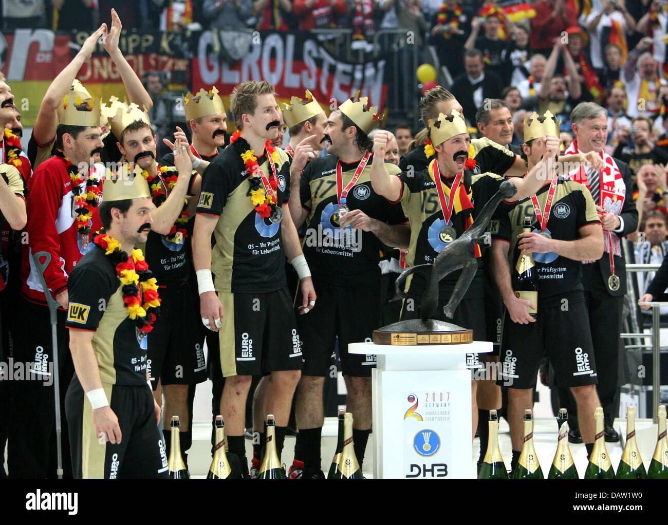 polen in die handball wm 2007 finale