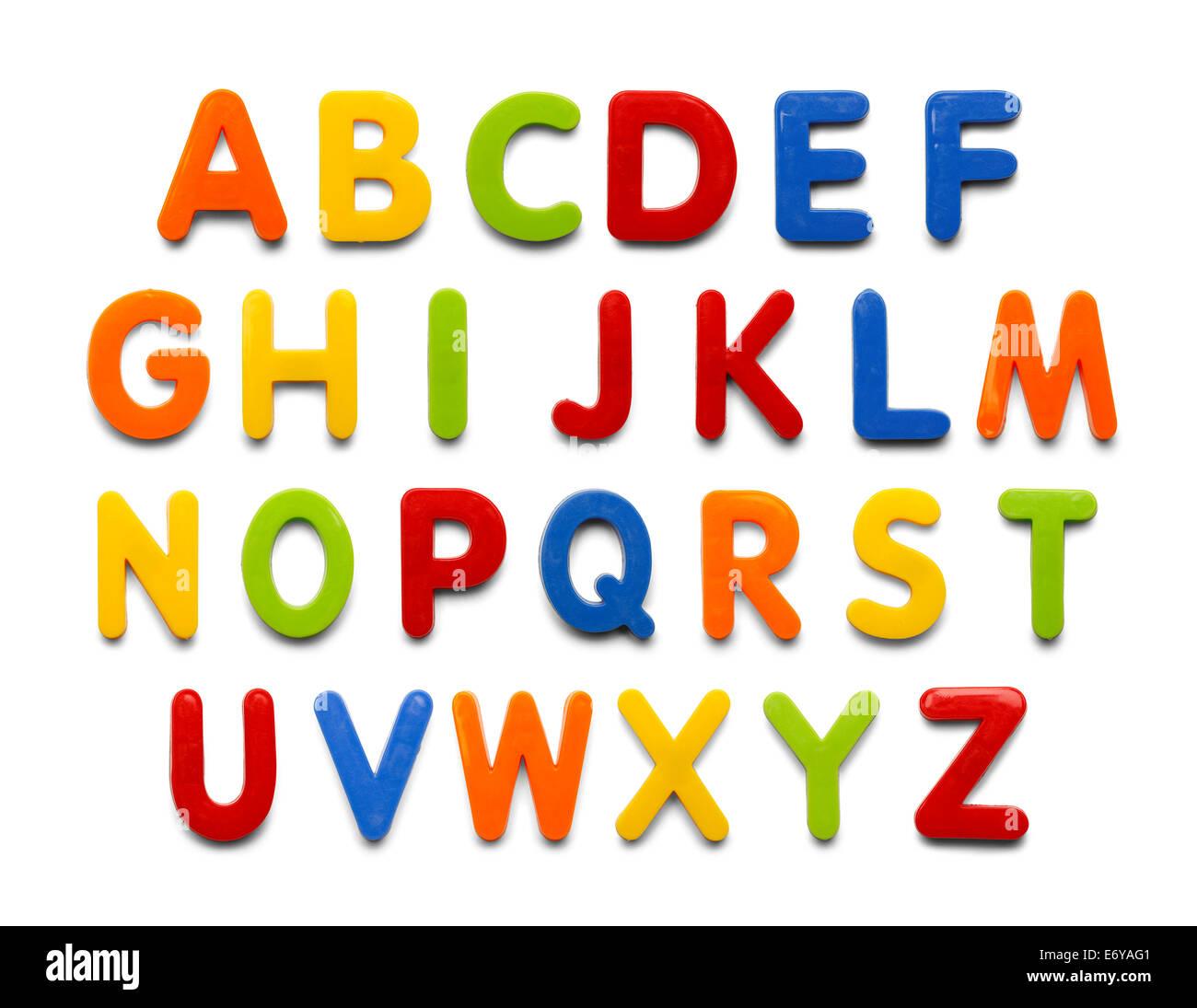 Magnetische Kunststoff Alphabet Bunte Abc Buchstaben