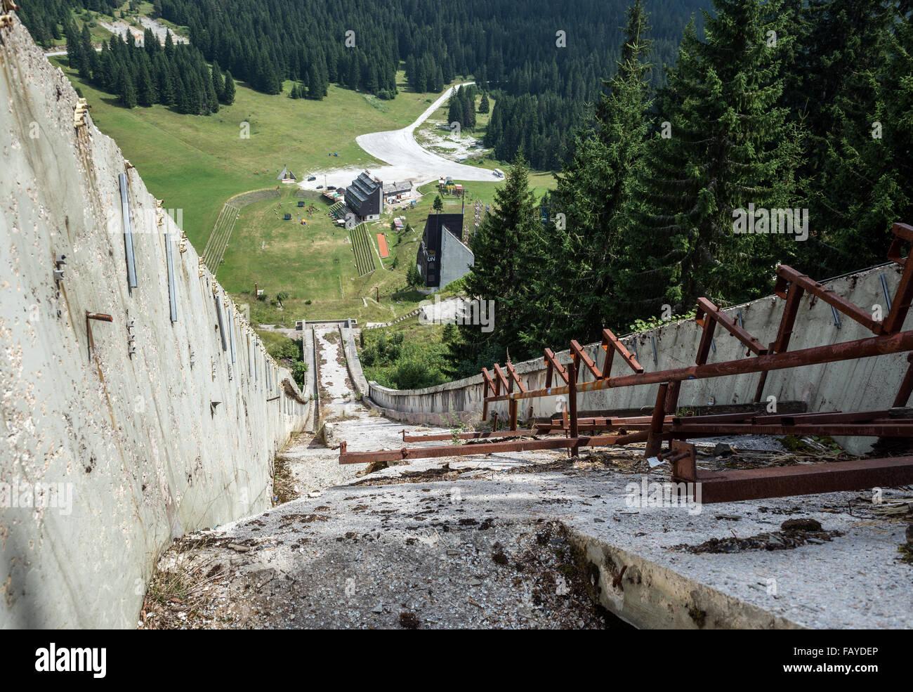Igman Olympic Springt Auch Genannt Malo Polje In Ilid A
