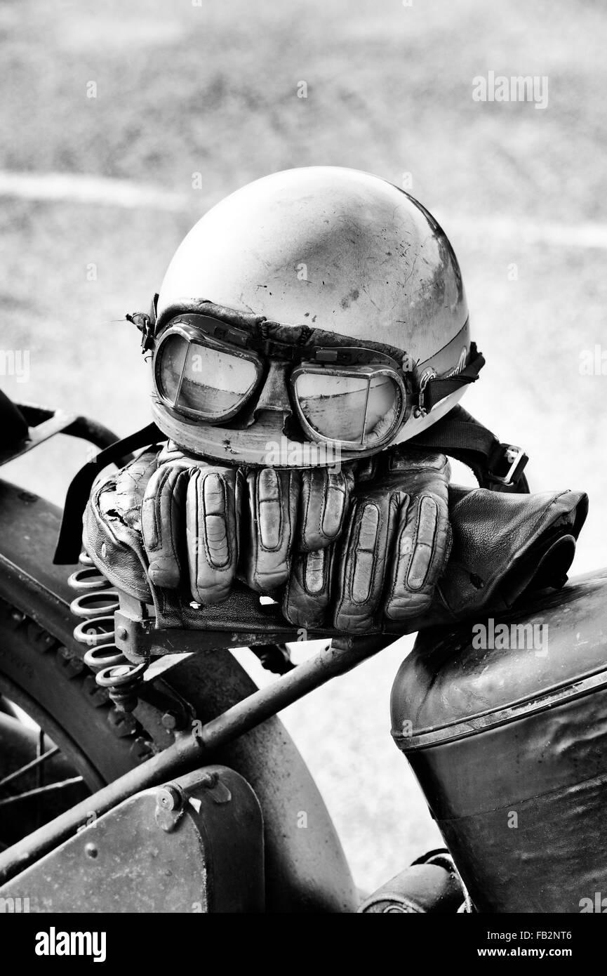 vintage motorrad stockfotos und bilder