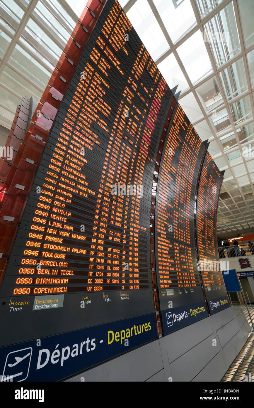Airport Paris Charles De Gaulle Stockfotos Amp Airport Paris