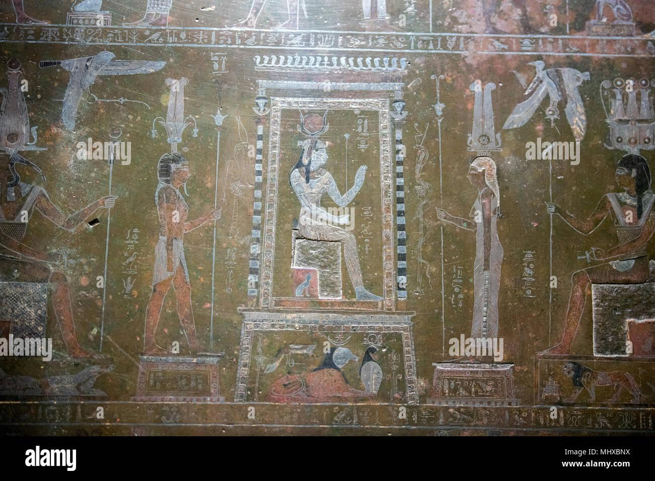 Alte Agyptische Wandmalerei Britisches Museum Fotos