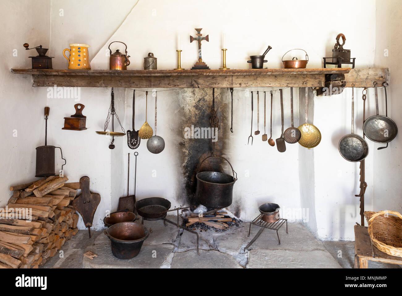 Küche Retro Stil - Drawing Apem