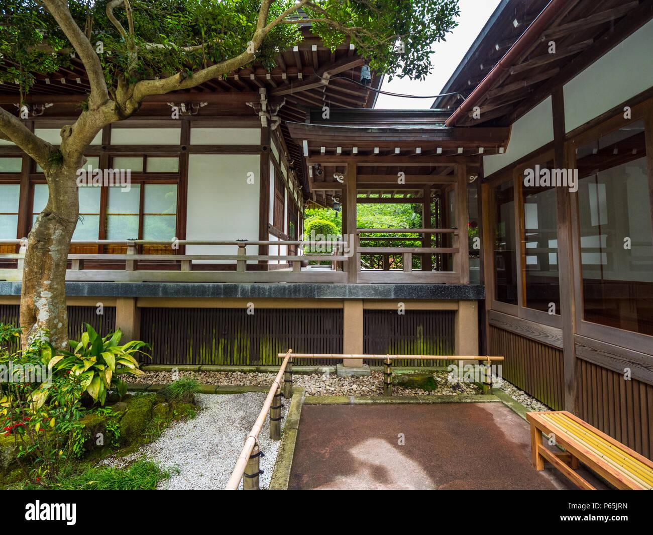 Japanische Häuser Stockfotos & Japanische Häuser Bilder - Alamy