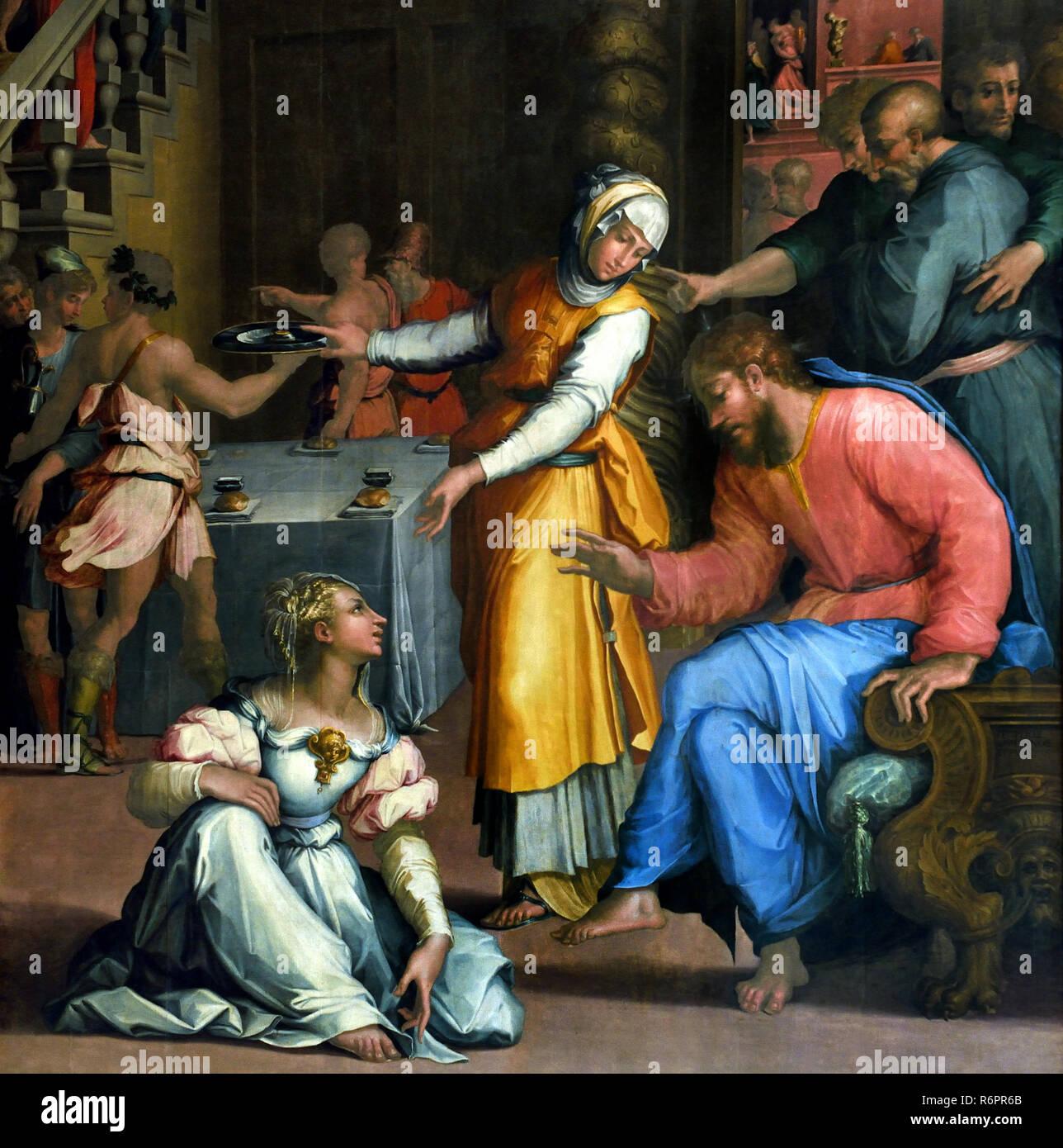 jesus christus im haus von marta und
