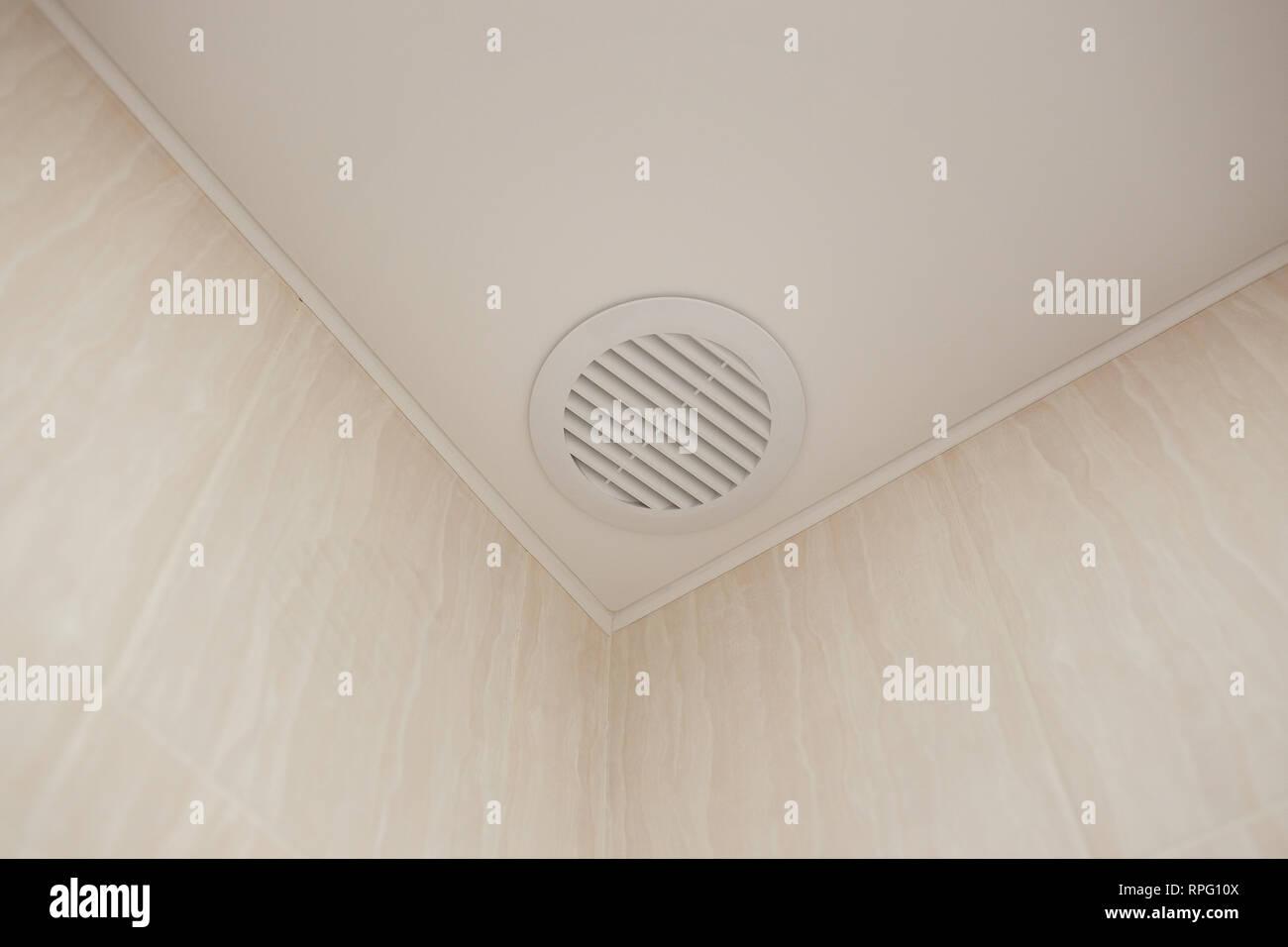 White Ceiling Ventilator Stockfotos Und Bilder Kaufen Alamy
