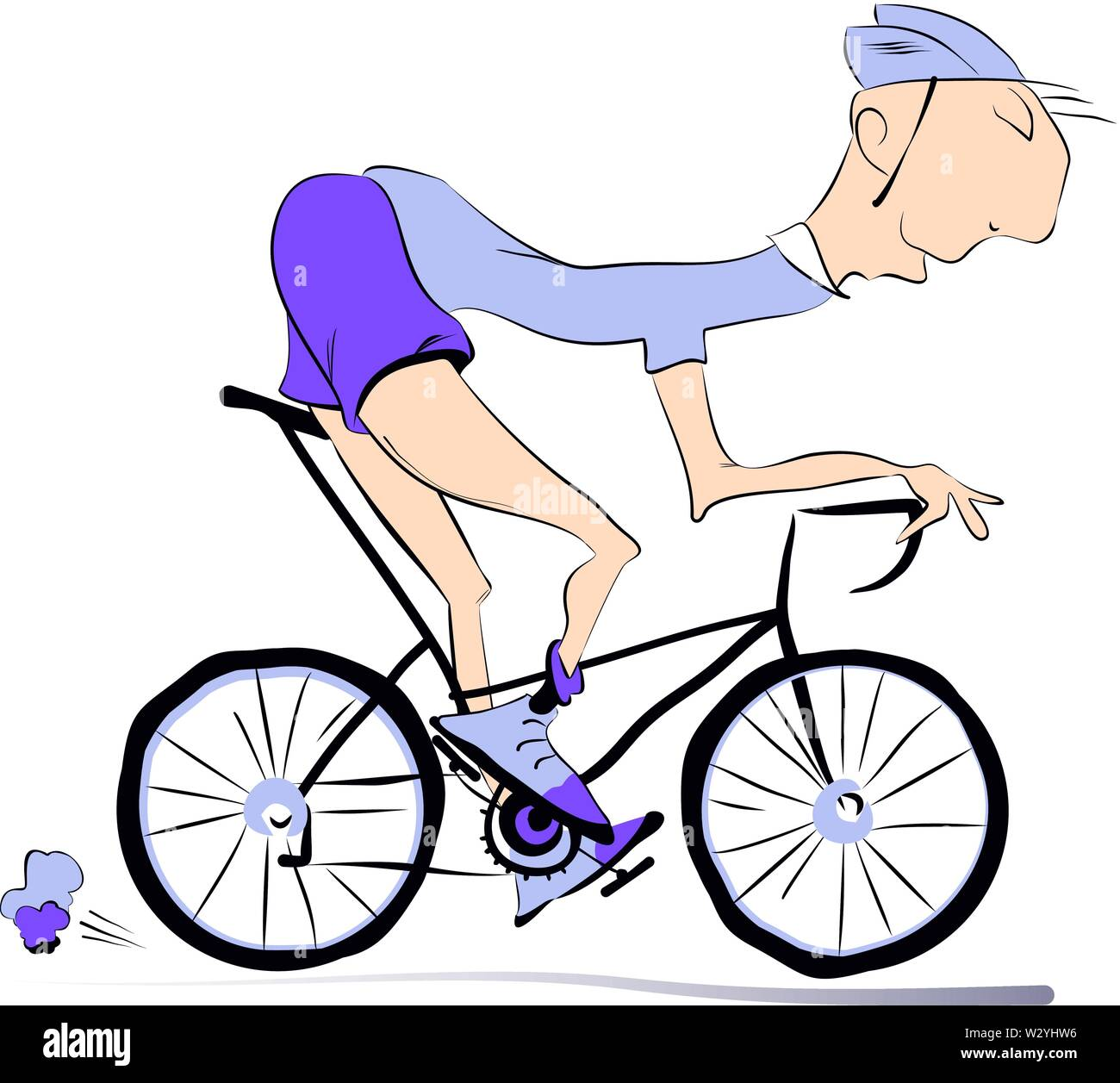 Lustige Cartoons Mit Farbe Fahrrad Fur Kinder Und Kinderlieder
