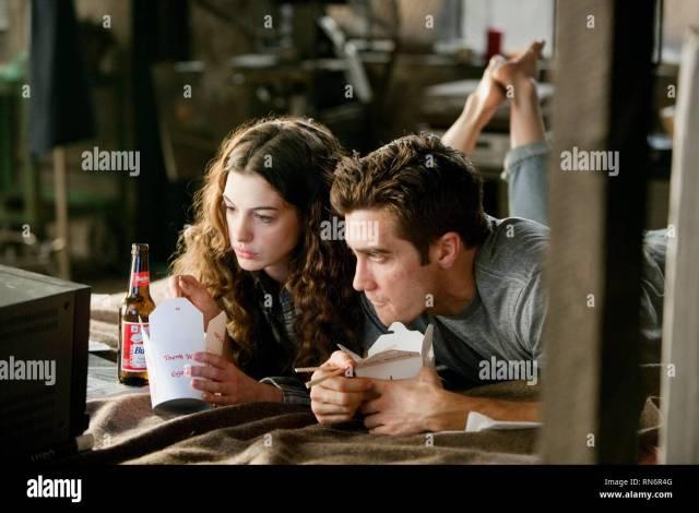 Amor Y Otras Drogas Anne Hathaway Jake Gyllenhaal 2010 Imagen De Stock