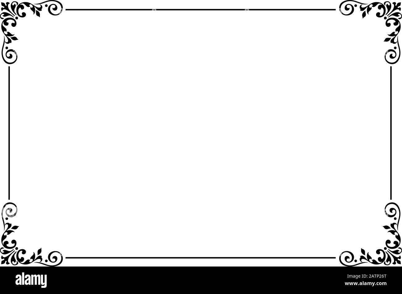 Bordure De Page Banque D Image Et Photos Alamy