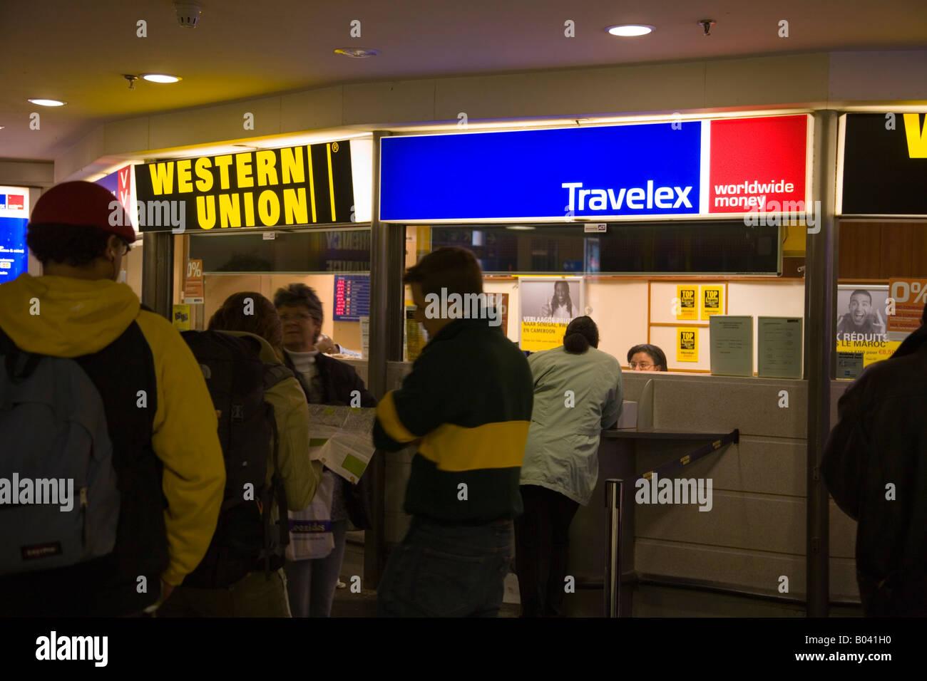 bureau de change travelex a bruxelles gare du midi bruxelles belgique