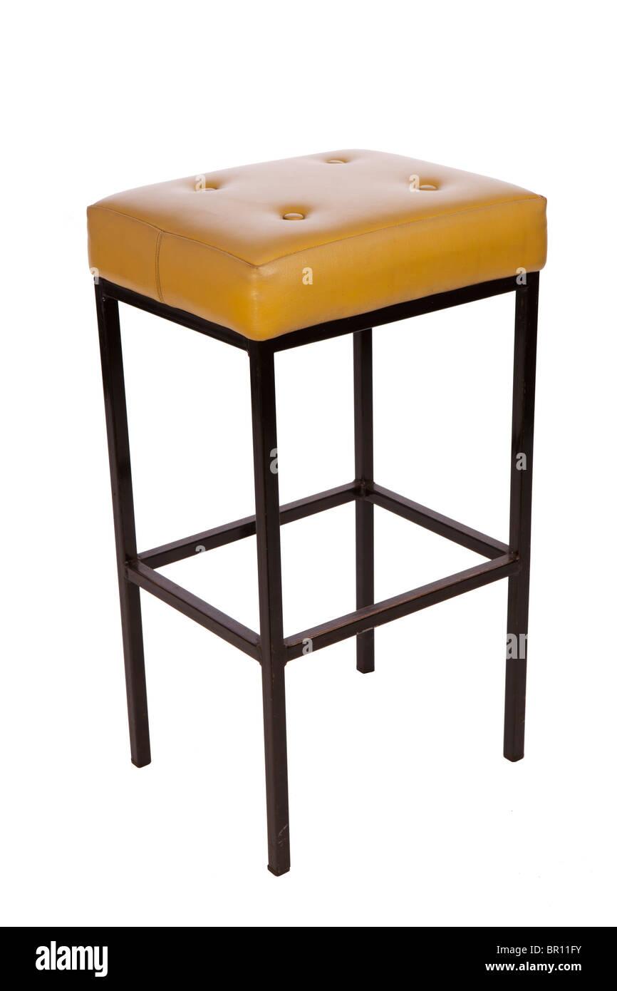 1960 mobilier remploy fait tabouret de bar recouvert d acier