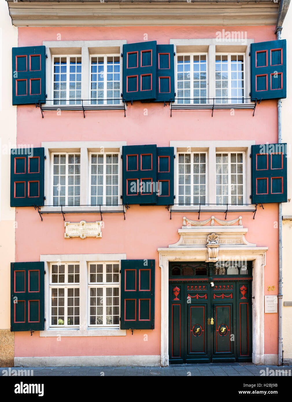 Beethoven Haus Photos Amp Beethoven Haus Images Alamy