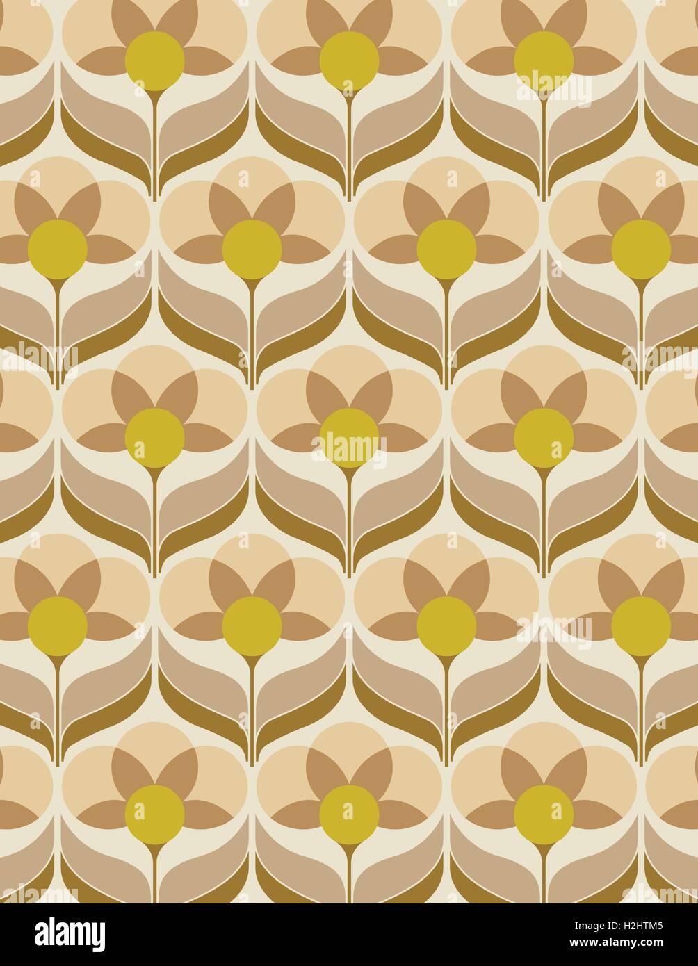 https www alamyimages fr photo image papier peint a fleurs des annees 60 122094453 html