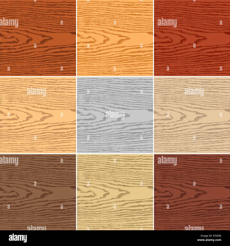9 Couleurs De Fond Texture Bois Naturel Vierge Modele Swatch Modele Realiste Vide Avec Cercles Annuels Ans Taille Toile Format Carre Image Vectorielle Stock Alamy