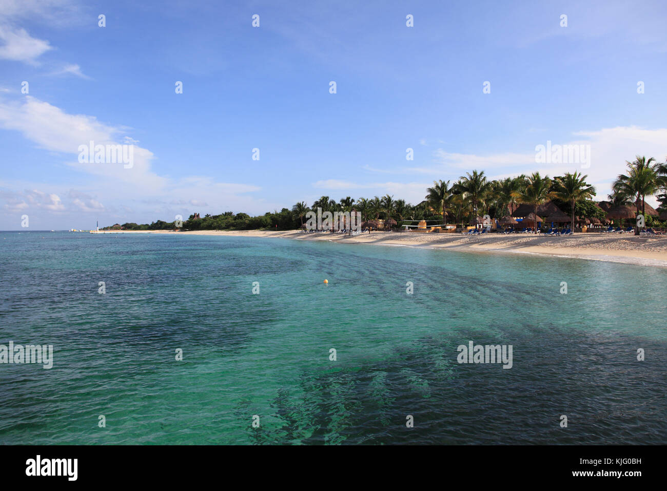 https www alamyimages fr photo image plage de san francisco l ocean des caraibes l ile de cozumel isla de cozumel quintana roo mexique 166308677 html