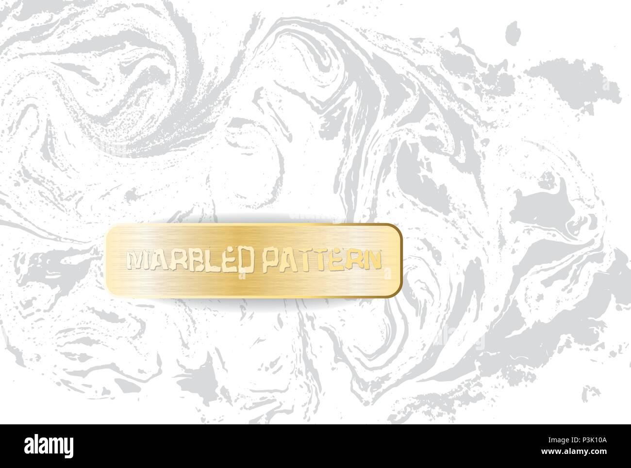 https www alamyimages fr en marbre blanc et gris le persillage de la lumiere la texture fond marbre decoratif avec banniere d or vector illustration image208786266 html