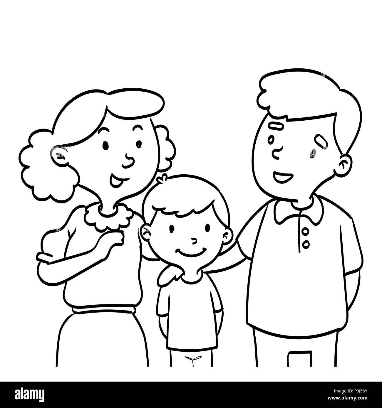 Line Drawing Mother Photos Amp Line Drawing Mother Images