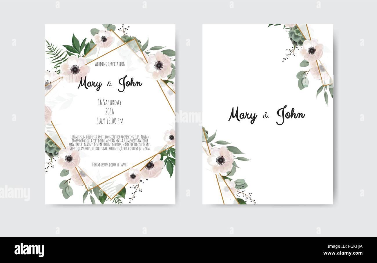 https www alamyimages fr modele de carte d invitation de mariage botanique design fleurs blanches et roses sur fond noir et blanc image216789842 html