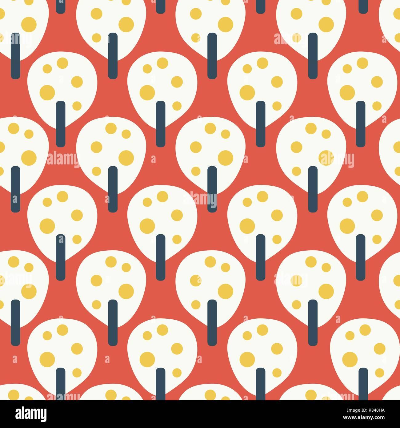 https www alamyimages fr fruits pommiers retro blanc rouge bleu jaune moutarde vecteur modele homogene fond d inspiration vintage television style scandinave l art geometrique parfait pour tissu papier peint decoration pour enfants la banniere image228740326 html