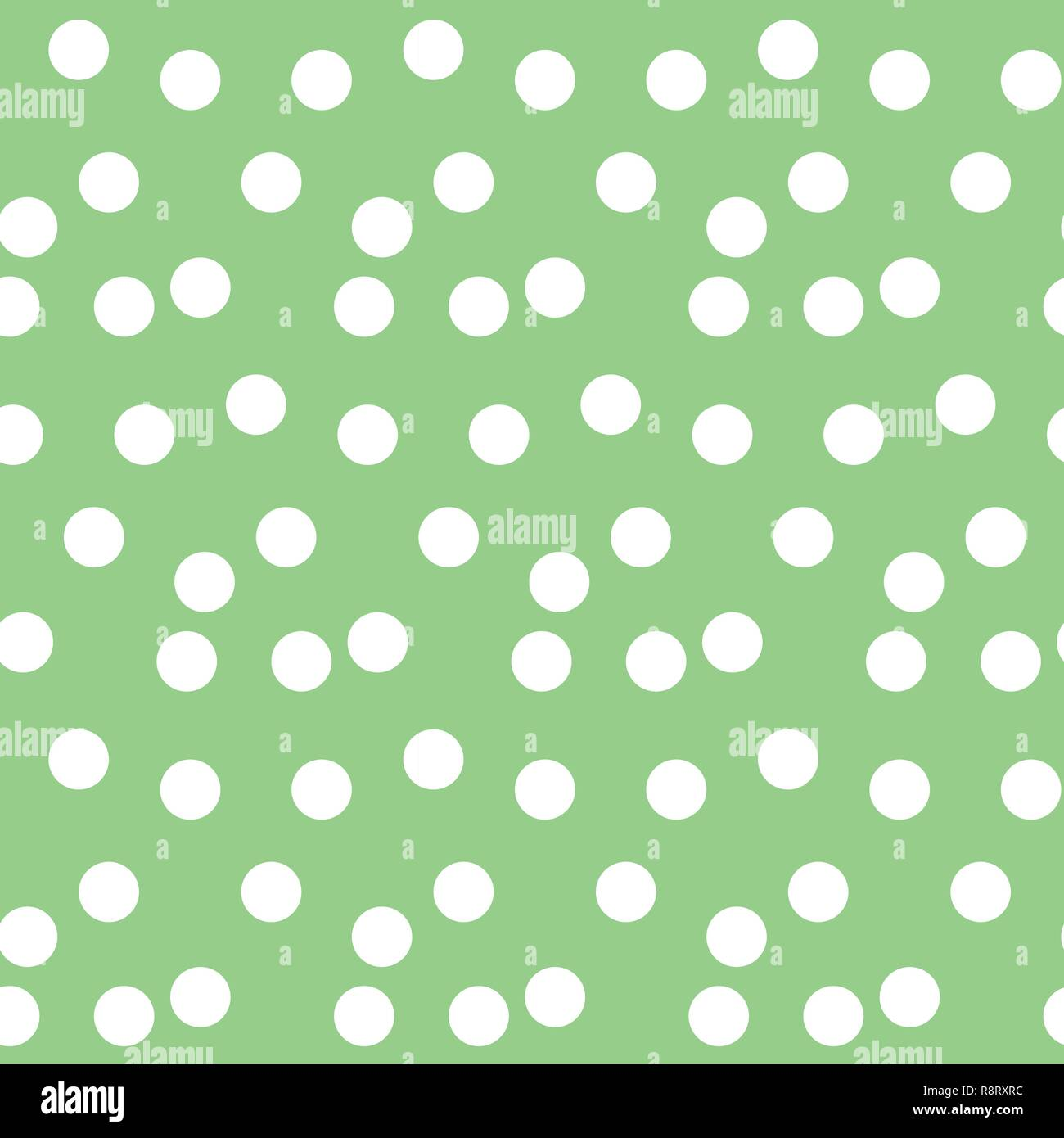 https www alamyimages fr fond vert pastel polka dots motif transparent disperses vector illustration image229177968 html